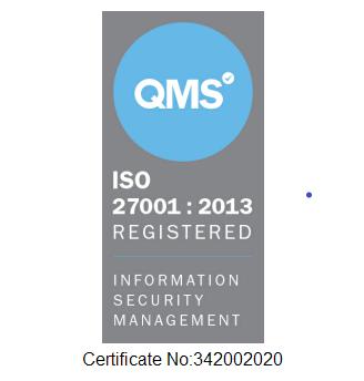 ICEFLO ISO-27001-2013 Accreditation